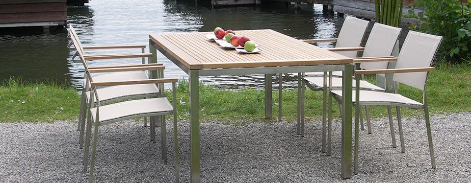 edelstahl-möbel, Gartenmöbel
