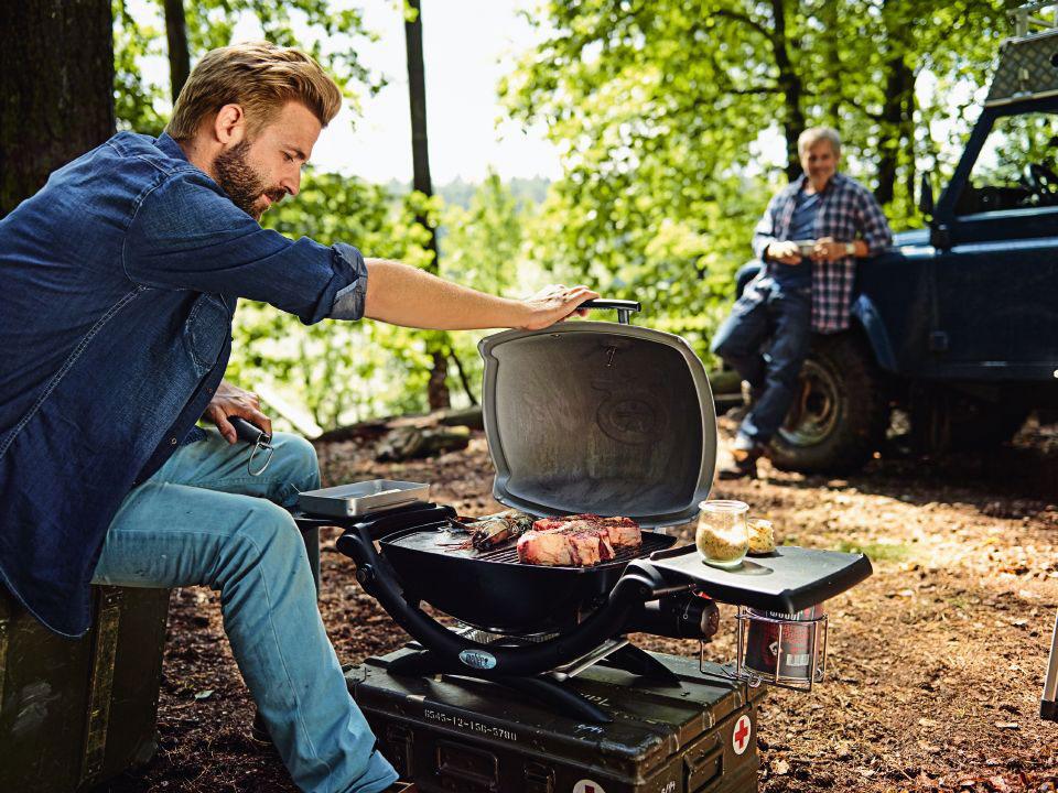 Weber Elektrogrill Lachs : Grill