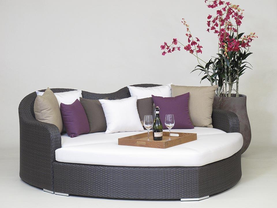 Gartenmobel Eisen Weib : LoungeMöbel